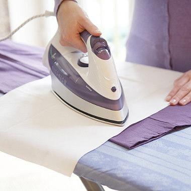 как гладить с помощью марли