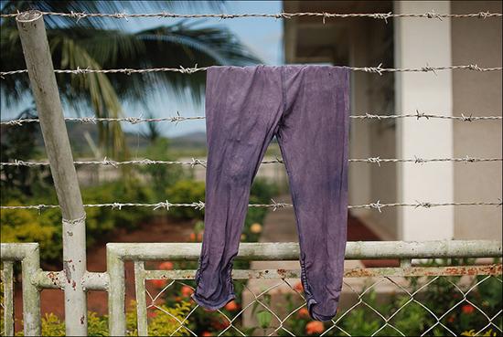 сушим брюки