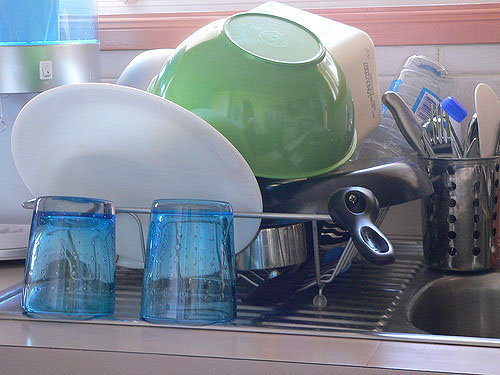 используем соду при мытье посуды