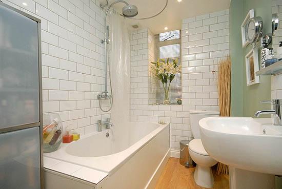 кафельная плитка в ванне