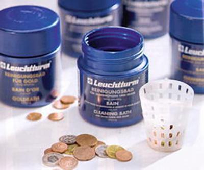 специальная жидкость для чистки медных монет