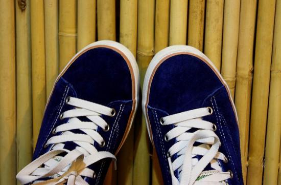 востановленный цвет замшевых кроссовок