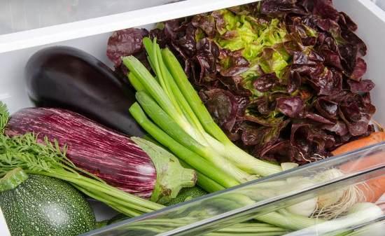хранение овощей в холодильнике