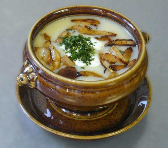 Варим грибной суп из сушеных белых грибов