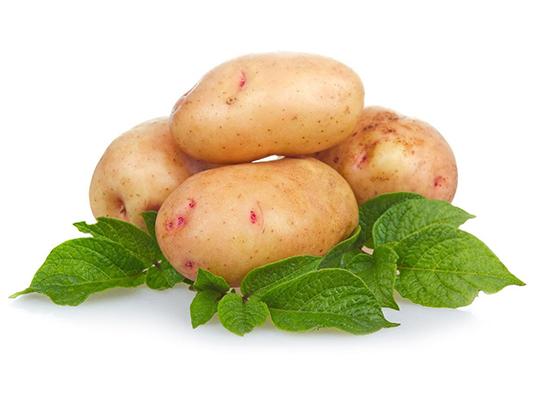 картофель для очистки серебра
