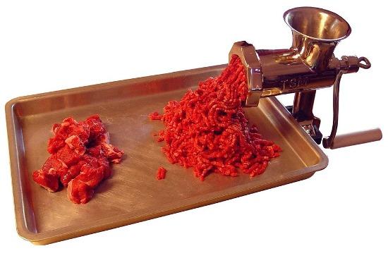 ручная мясорубка
