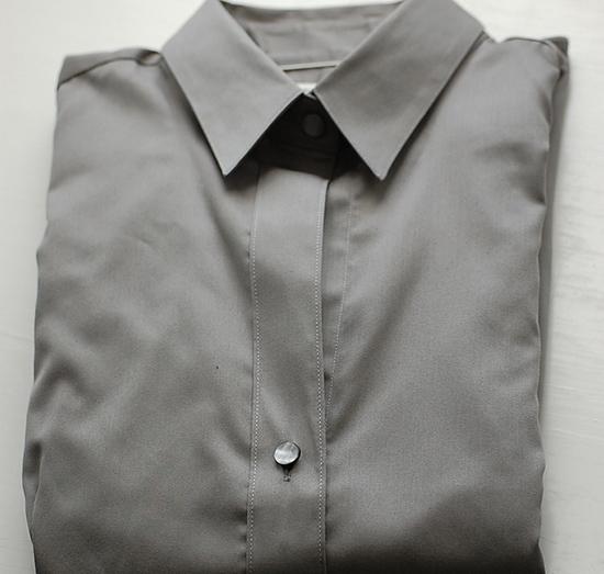 красиво сложенная рубашка