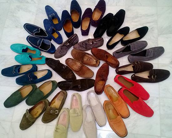замшевая обувь