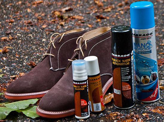 аэрозоль для чистки замшевой обуви