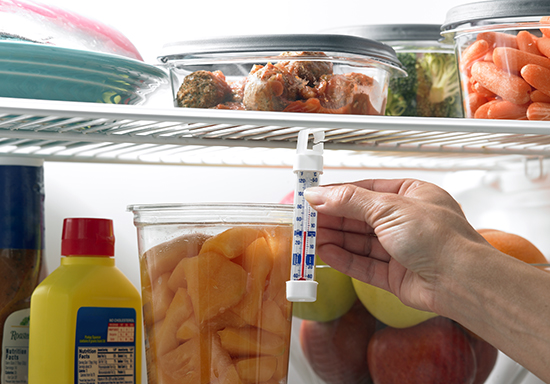 измеряем температуру в холодильнике