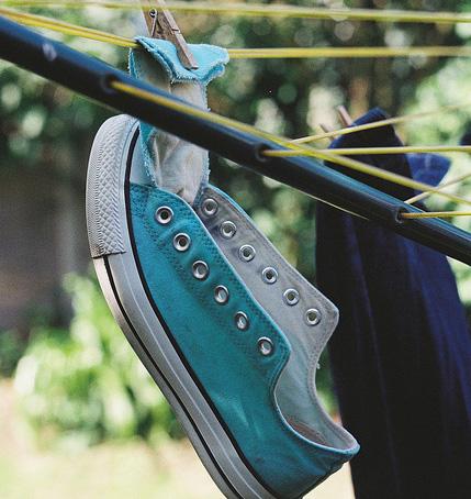 как сушить кроссовки