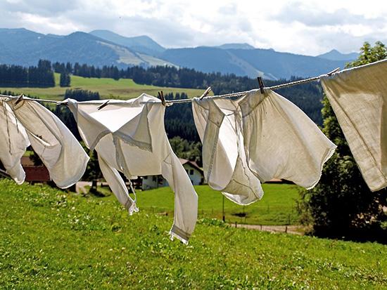 сушим одежду