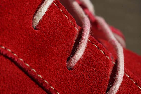 чистая замшевая обувь