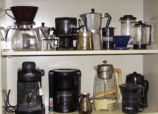 кофеварки разных типов