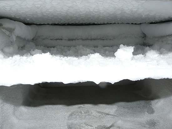 замороженная морозильная камера