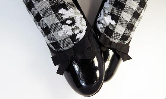 лакированная женская обувь