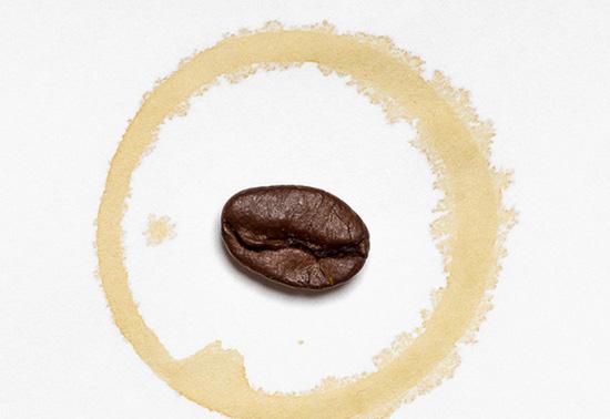 кофейное пятно
