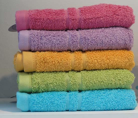 пушистые махровые полотенца после стирки