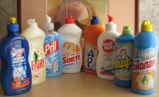 специальные моющие средства