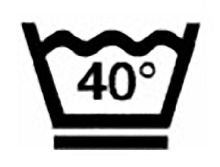 стирать при температуре 40 градусов