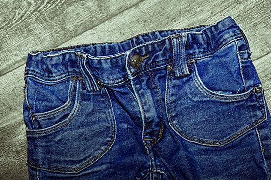 джинсы после стирки в стиральной машинке
