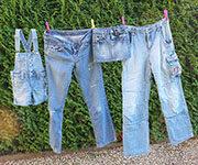 джинсы после стирки в стиральной машине
