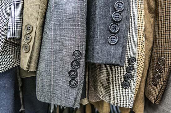 пиджаки из разных тканей