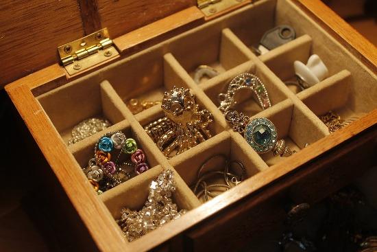 чистка золотых изделий