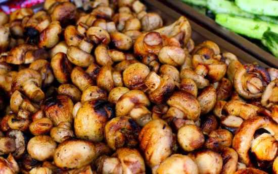 как хранить жареные грибы