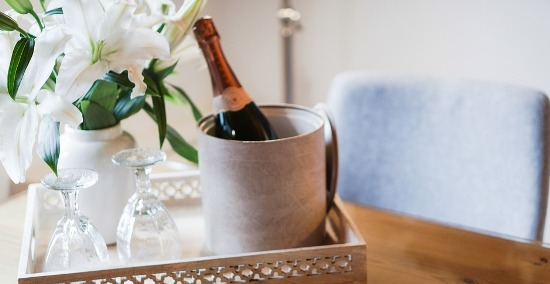 как хранить шампанское