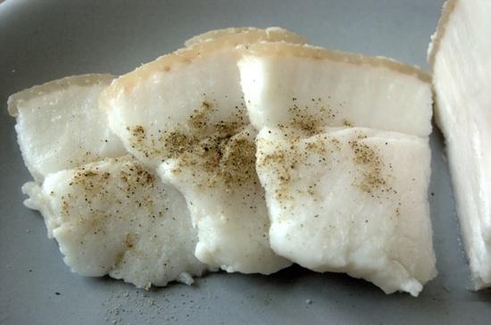 соленое сало