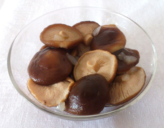 соленые грибы
